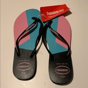 NWT havaianas flip flop sandals